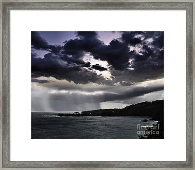 Arianrhods Touch Framed Print