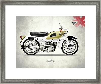 Ariel Arrow Super Sport Framed Print