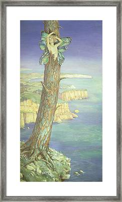 Ariel Framed Print by Maud Tindal Atkinson