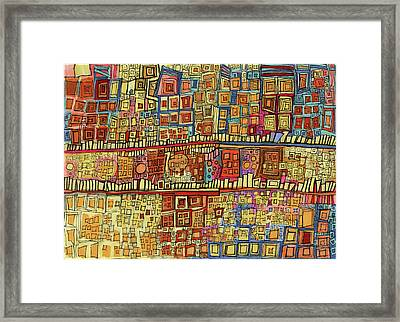 Ariel View Framed Print