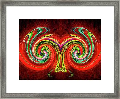 Aries Framed Print by Michael Durst