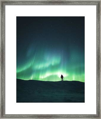 Arise Framed Print by Tor-Ivar Naess