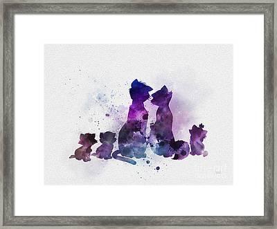 Aristocats Framed Print
