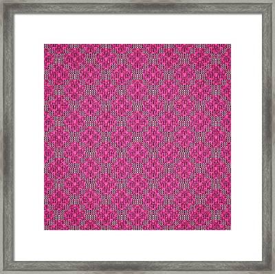 Aristocratic Pink Framed Print