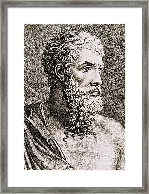 Aristotle, Ancient Greek Philosopher Framed Print
