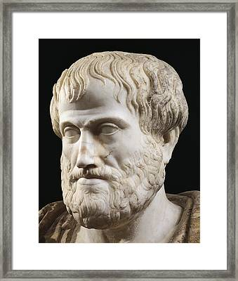 Aristotle Framed Print by Lysippus