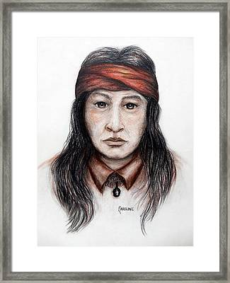 Arizona Apache Framed Print