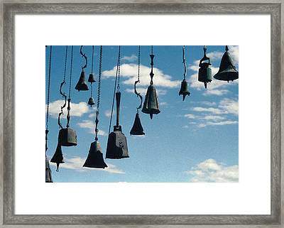 Framed Print featuring the photograph Arizona Bells by Kenneth Campbell