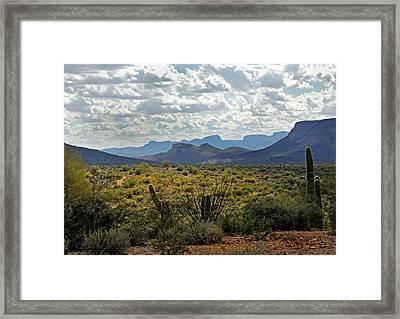 Arizona Calling Framed Print by Gordon Beck