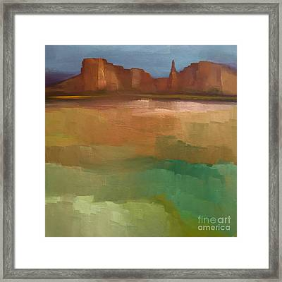Arizona Calm Framed Print