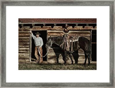 Arizona Cowboy Framed Print