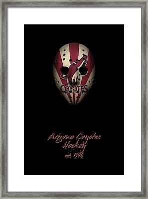 Arizona Coyotes Established Framed Print by Joe Hamilton