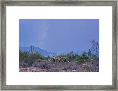 Arizona Desert  Framed Print by James BO  Insogna