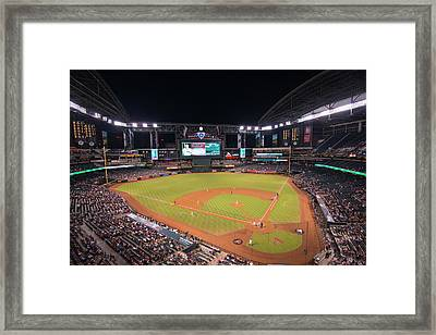 Arizona Diamondbacks Baseball 2591 Framed Print