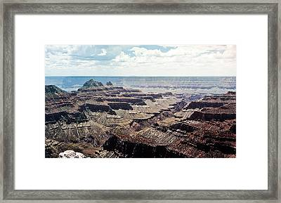 Arizona Grand Canyon North Rim Framed Print by Ryan Kelly