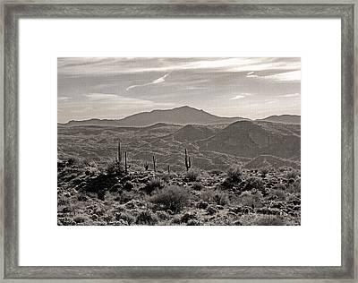 Arizona Morning Framed Print by Gordon Beck