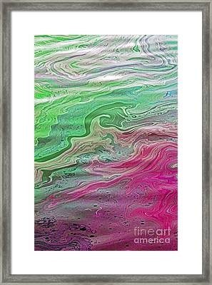 Arizona Oil Slick 3 Framed Print