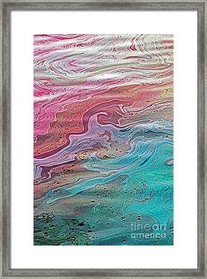 Arizona Oil Slick 4 Framed Print