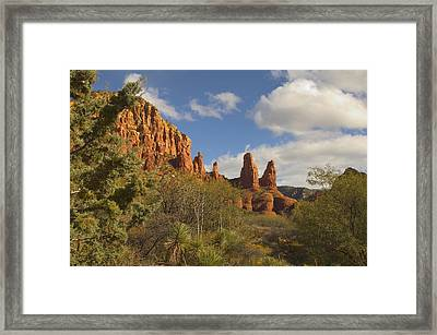 Arizona Outback 2 Framed Print by Mike McGlothlen