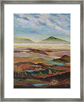 Arizona Reflections Number Five Framed Print by Don Trout