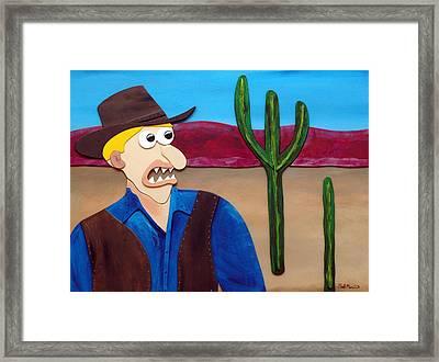 Arizona Framed Print by Sal Marino