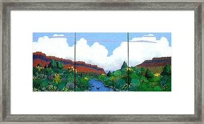 Arizona Sky Framed Print by Bernard Goodman