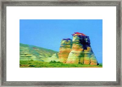 Arizona Spring Framed Print by Jeff Kolker