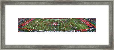 Arizona Stadium Triptych Part 2 Framed Print by Stephen Farley