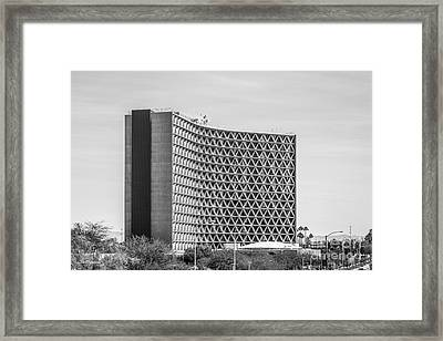 Arizona State University Manzanita Hall Framed Print by University Icons