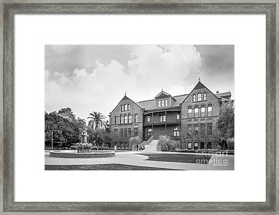 Arizona State University Old Main Framed Print by University Icons