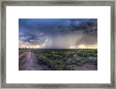 Arizona Storm Framed Print