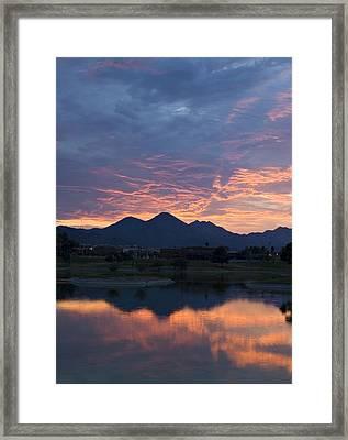 Arizona Sunset 2 Framed Print