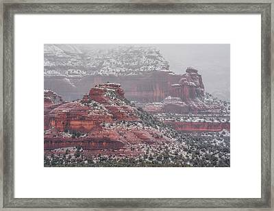 Arizona Winter Framed Print