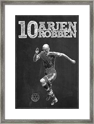 Arjen Robben Framed Print by Semih Yurdabak