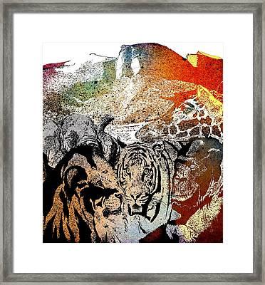Ark Of Hope The Rainbow Framed Print
