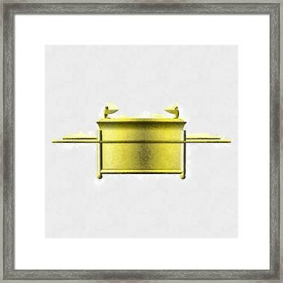 Ark Of The Covenant By Pierre Blanchard Framed Print