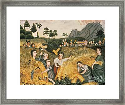 Ark Of The Covenant Framed Print by Erastus Salisbury Field