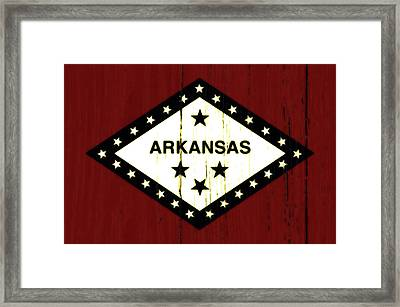 Arkansas 1w Framed Print