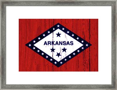 Arkansas 2w Framed Print