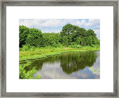Arkansas Reflections Framed Print
