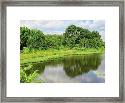 Arkansas Reflections Framed Print