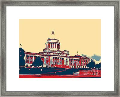 Arkansas State Capitol  Framed Print