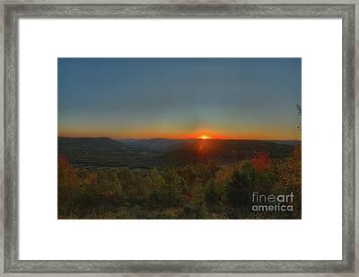 Arkansas Sunrise Framed Print by Kevin Kuchler