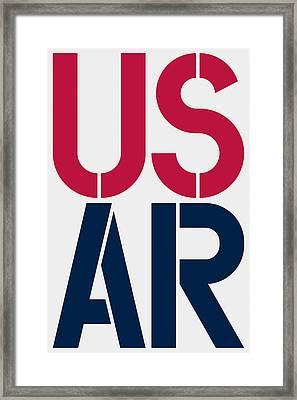 Arkansas Framed Print