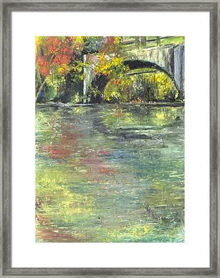 Arkansas Trestle Framed Print by Robin Miller-Bookhout