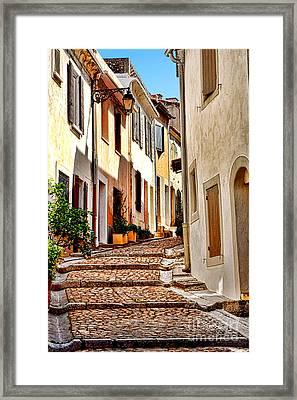 Arles Framed Print by Olivier Le Queinec