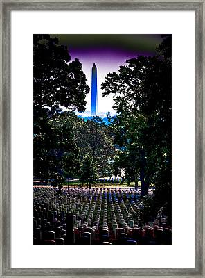 Arlington Framed Print by David Hahn