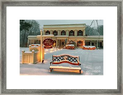 Arlington Inn Framed Print