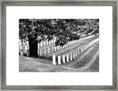 Arlington National Cemetery # 2 Framed Print