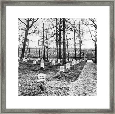 Arlington National Cemetery - C 1867 Framed Print by International  Images